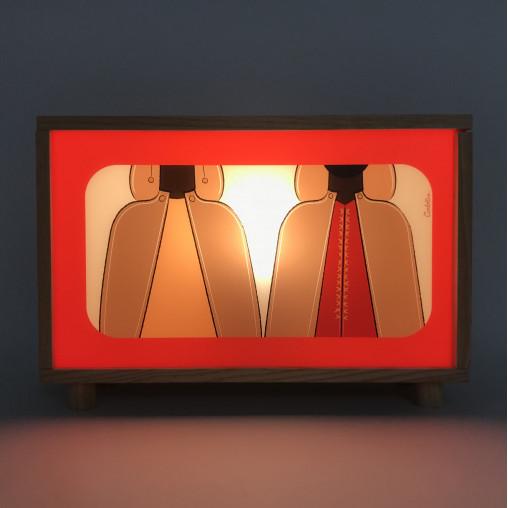 Caja de Luz Africanos